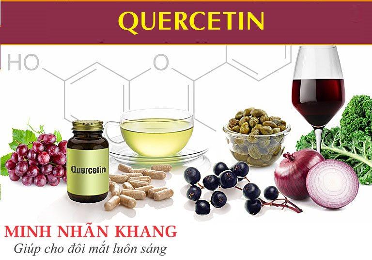 Quercetin  - chất chống oxy hóa thiết yếu trong điều trị thoái hóa điểm vàng